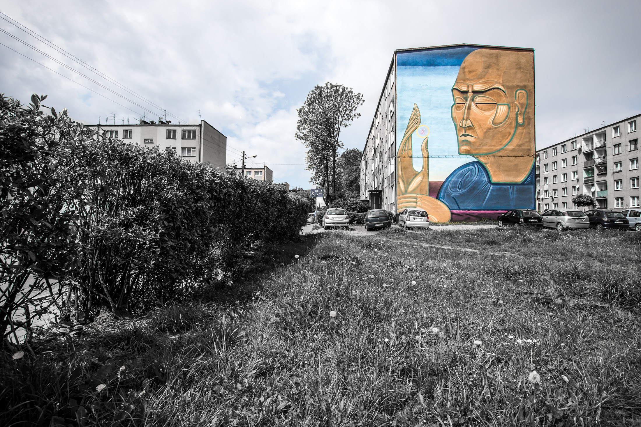 Również powstało podczas Street Art festiwal. Lokalizacja