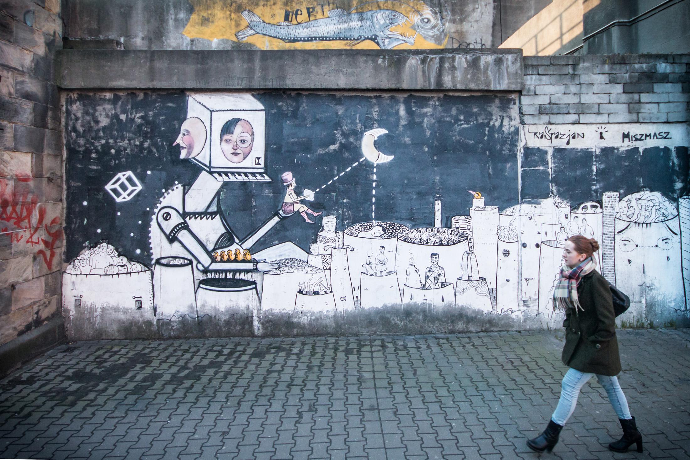 Murale na śląsku
