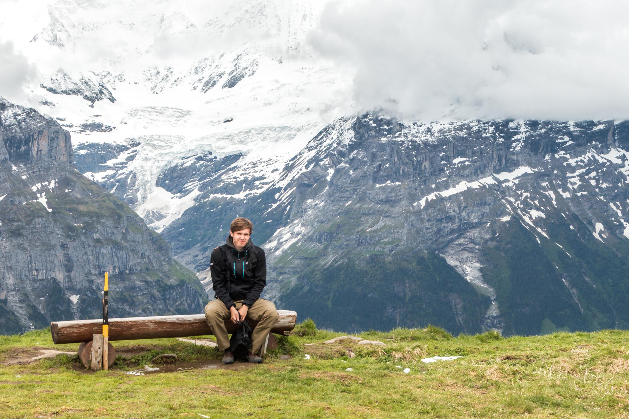 Piersze wędrówki w Szwajcarii