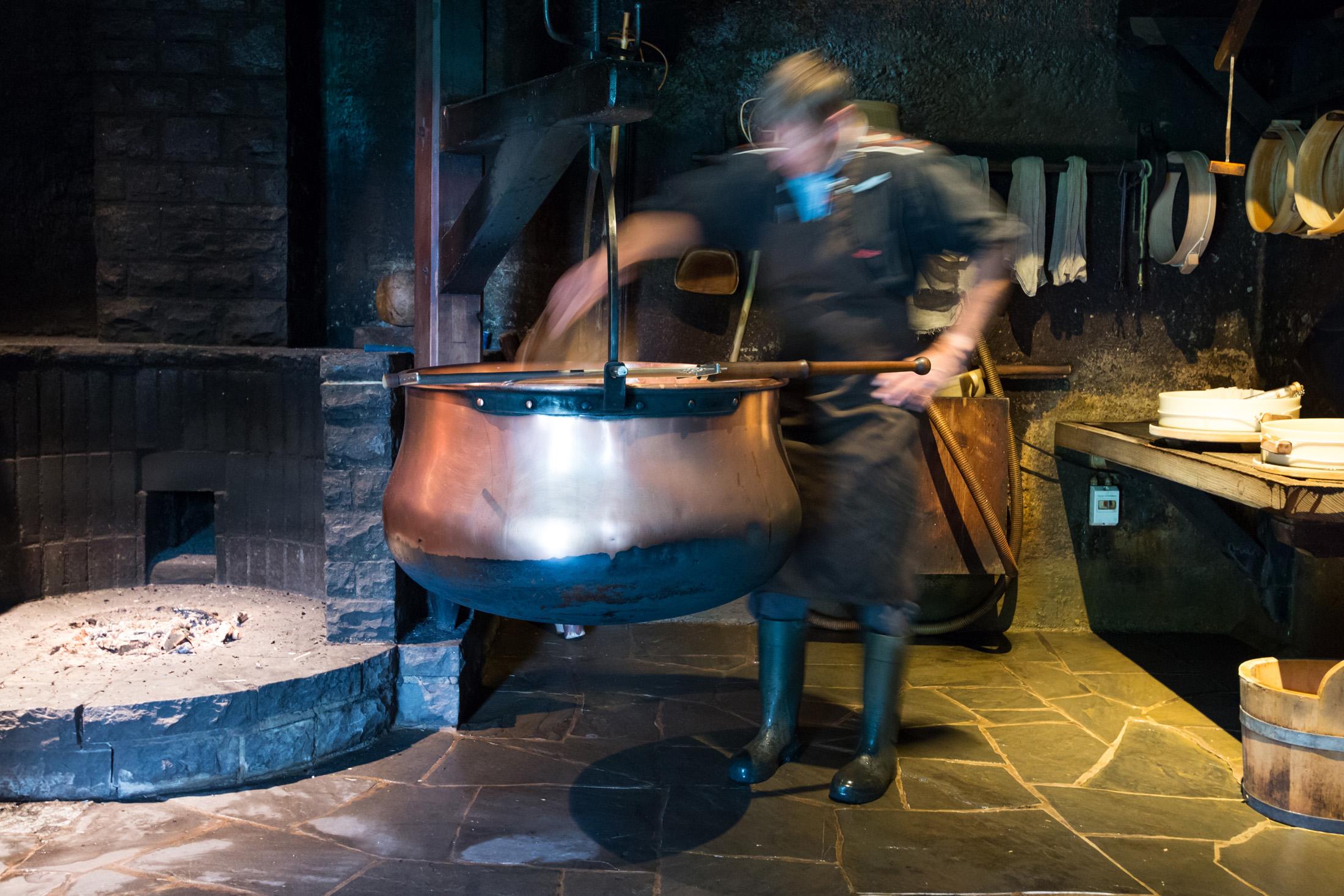 Produkcja serów szwajcarskich