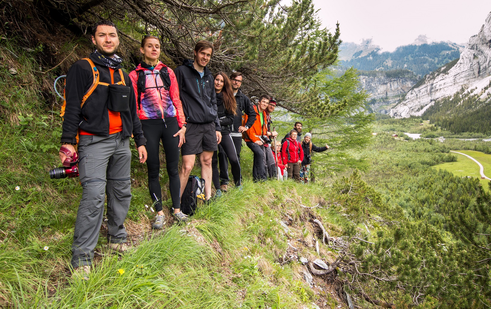 Travel adventure team szwajcaria