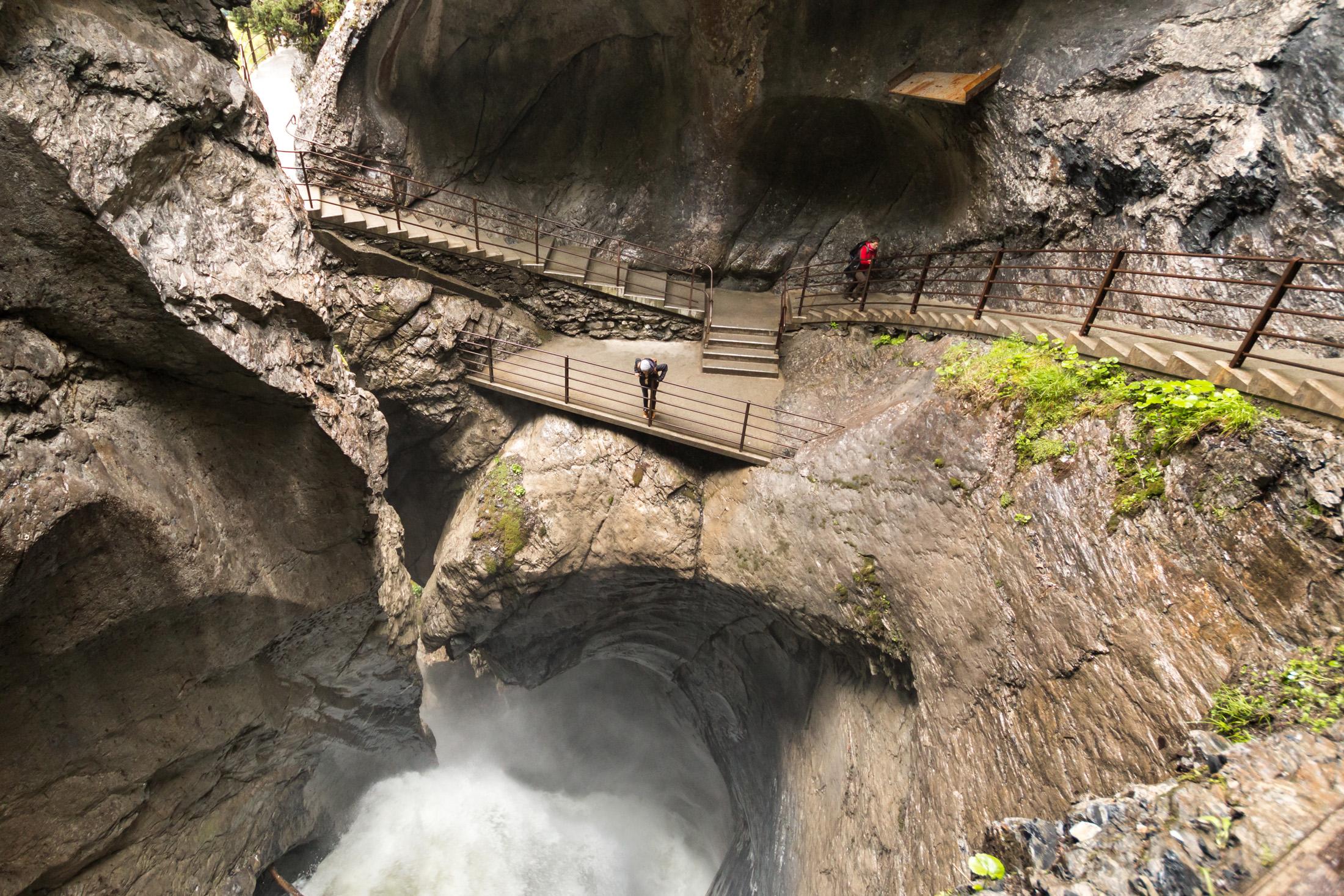 wodospady Trümmelbach szwajcaria