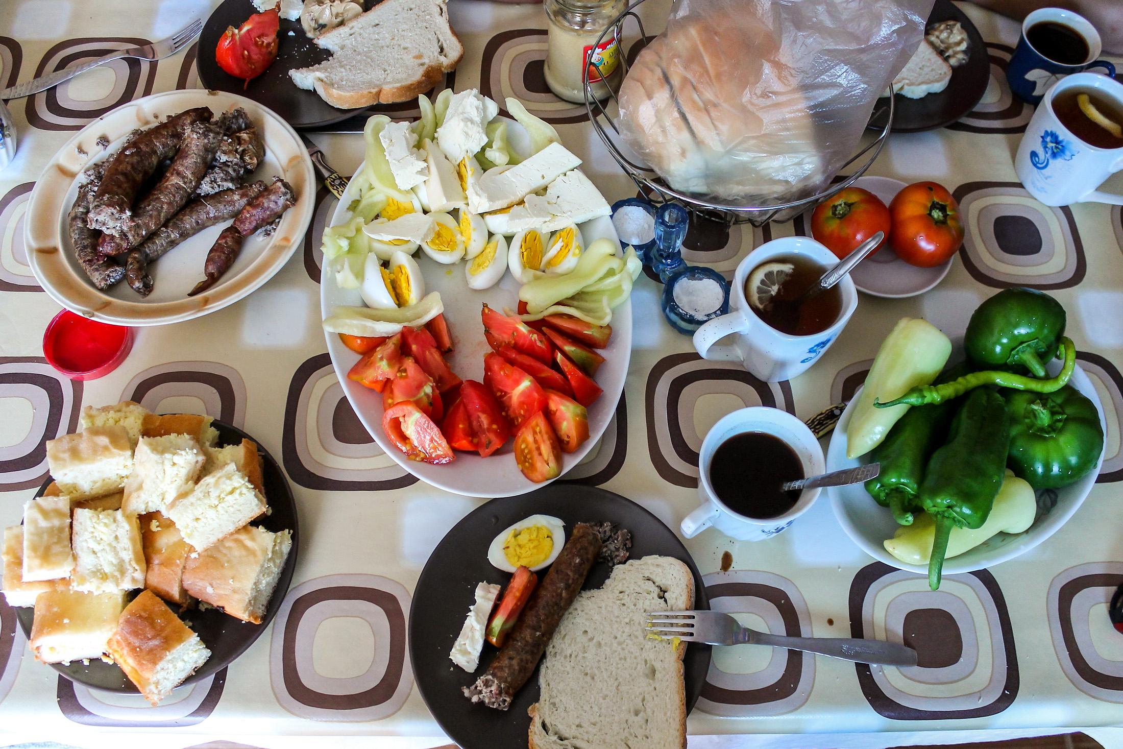 Jedzenie na Bałkanach