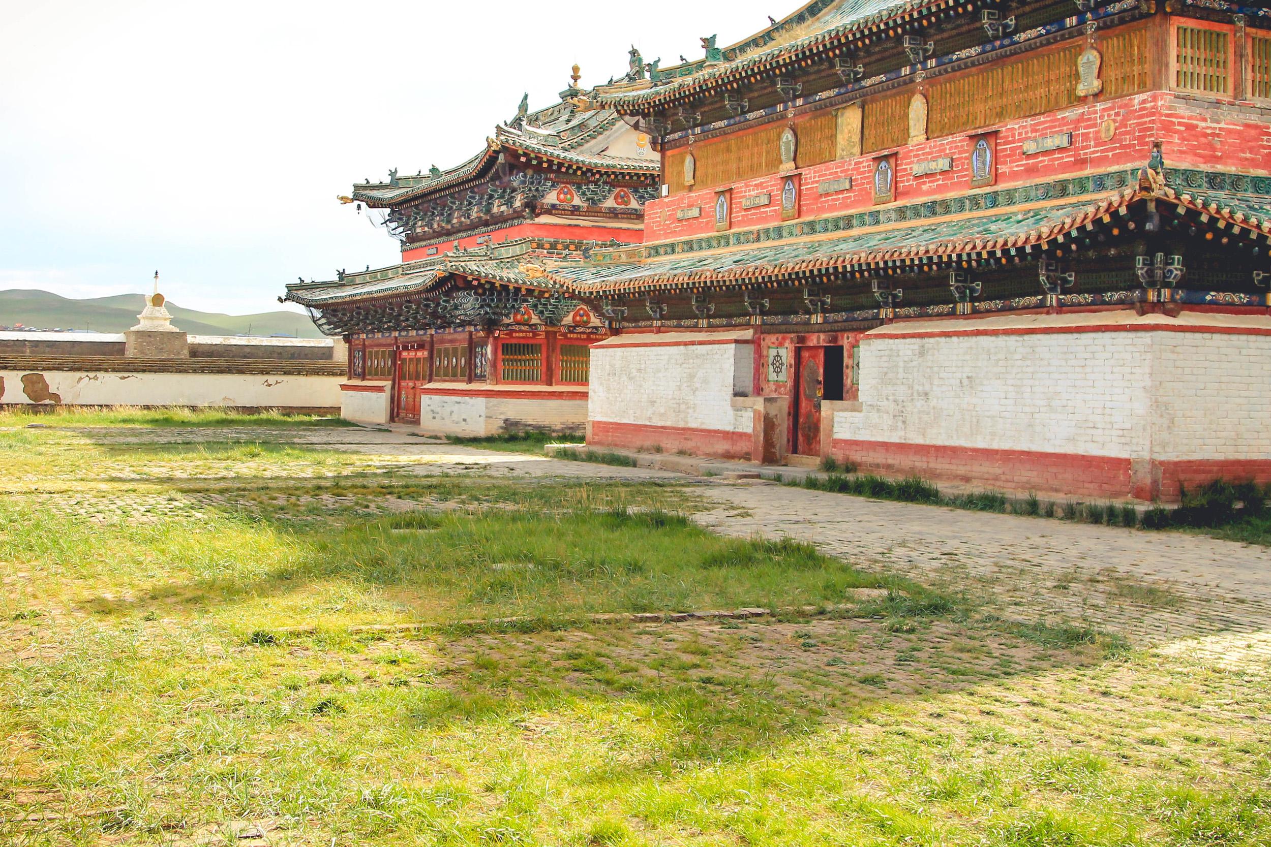 Buddyjskie budowle w