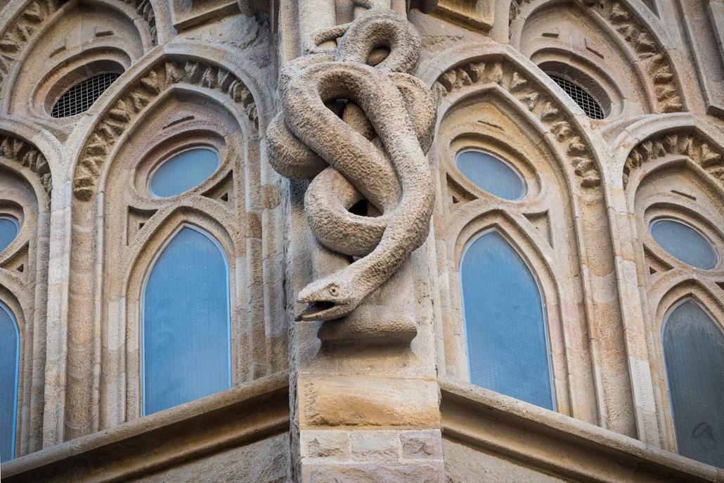 Jeden z projektów Gaudiego, którego nigdy nie ukończył