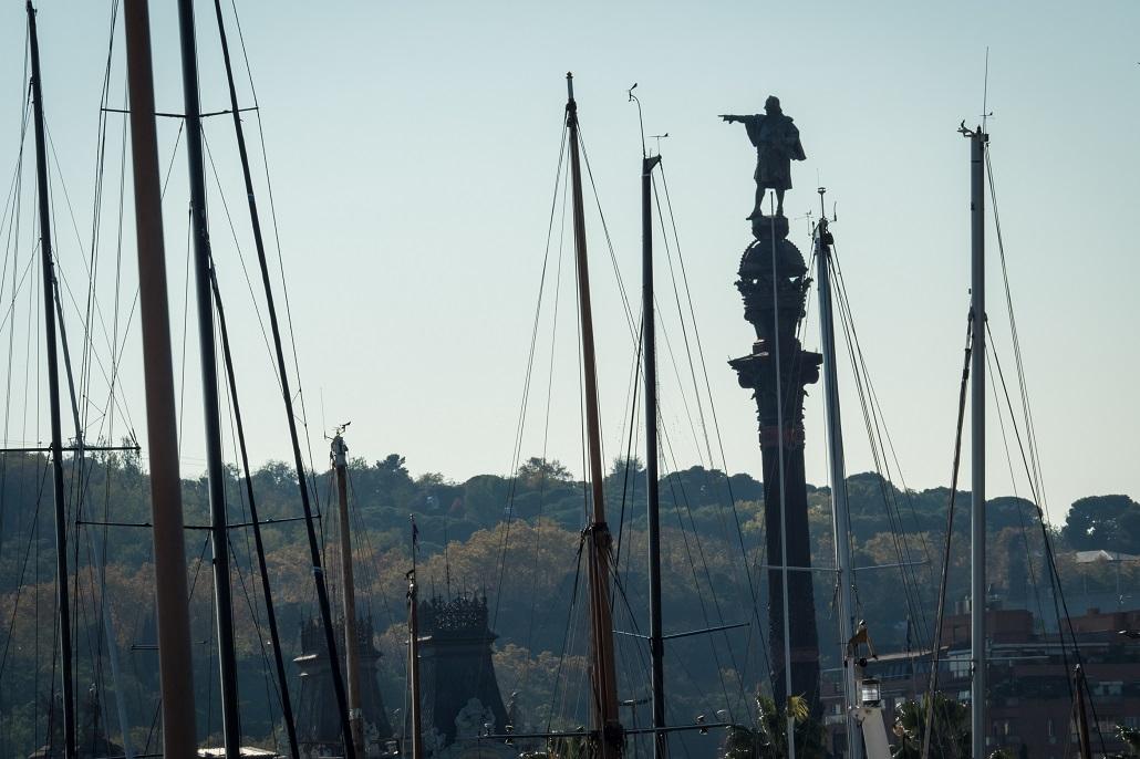 Kolumb z oddali